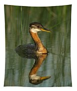 Red-necked Grebe Tapestry