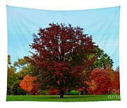 Red Oak In Loose Park Tapestry