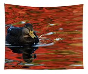 Red Pond Tapestry