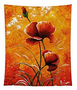 Red Poppies 023 Tapestry