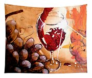 Red Red Wine Tapestry