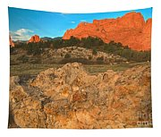 Red Rock Caps Tapestry