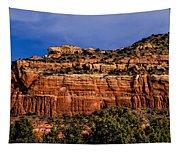 Red Rock Crag Tapestry