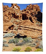 Red Rock Land Tapestry