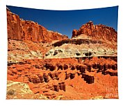 Red Rock Ridges Tapestry