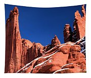 Red Rock Towers Tapestry