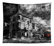 Red Rocket 11d Tapestry