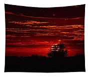 Red Set Tapestry