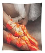 Red Shoes Tapestry