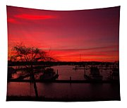 Red Sky In The Morning Two Tapestry
