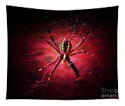 Red Spider Tapestry