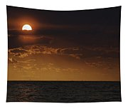 Red Sun Tapestry