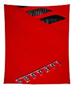Red Supercar Tapestry