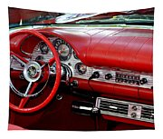 Red Thunderbird Dash Tapestry