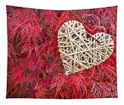 Red Valentine Tapestry