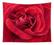 Red Velvety Rose Tapestry