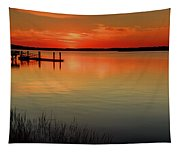 Red Water Tapestry