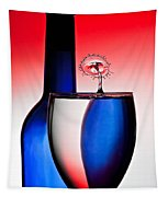 Red White And Blue Reflections And Refractions Tapestry
