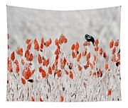 Red-winged Blackbird Tapestry