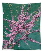Redbuds Over San Antonio River Tapestry