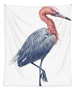 Reddish Egret Tapestry