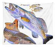 Redfish Trout Tapestry