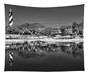 Reflecting Lighthouse  Tapestry