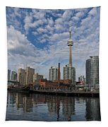 Reflecting On Toronto And Harbourfront  Tapestry