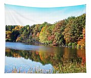 Reflecting Trees Tapestry