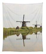 Reflecting Windmills Tapestry