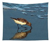 Reflection At Sunset Tapestry