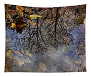 Reflection In A Puddle Tapestry