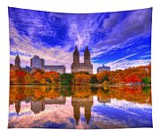 Reflection Of City Tapestry