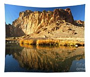 Reflections In The Crooked River Tapestry