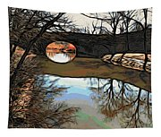 Reflections In The Water Tapestry