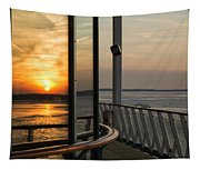 Reflections Of A Chesapeake Sunset Tapestry