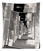 Reflections Of An Infrared Alley Tapestry