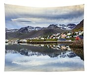 Reflections Of Iceland Tapestry