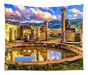 Reflections Of Past Glory Tapestry