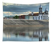 Reflections Of The Courthouse Tapestry