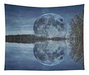 Reflective Paradise Tapestry