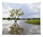 Reflective Times Tapestry