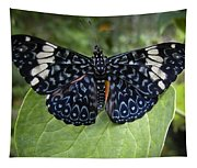 Regal Blue Butterfly Tapestry