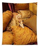 Regal Feline Tapestry