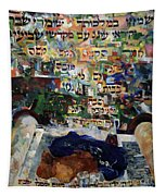 Rejoice In Your Kingship Those Who Keep Shabbes And Call It A Delight Tapestry