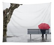 Relax In The Rain Tapestry