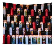 Religious Candles Tapestry