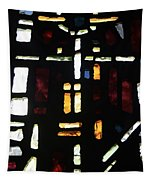 Religious Symbols In Glass Tapestry