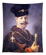 Rembrandt's A Polish Nobleman Tapestry