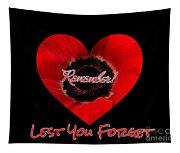 Remember With Love Tapestry